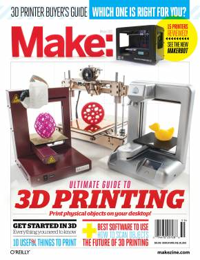 Scientific American: Live Chat Weds. 12:30 P.M. EST on What Good Is a Home 3D Printer?