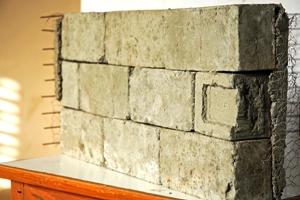 Making Paper Bricks in India