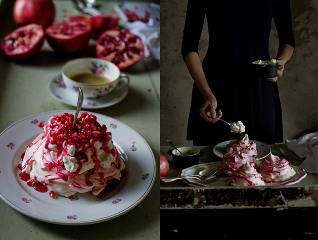 Recipe: Pomegranate Meringues