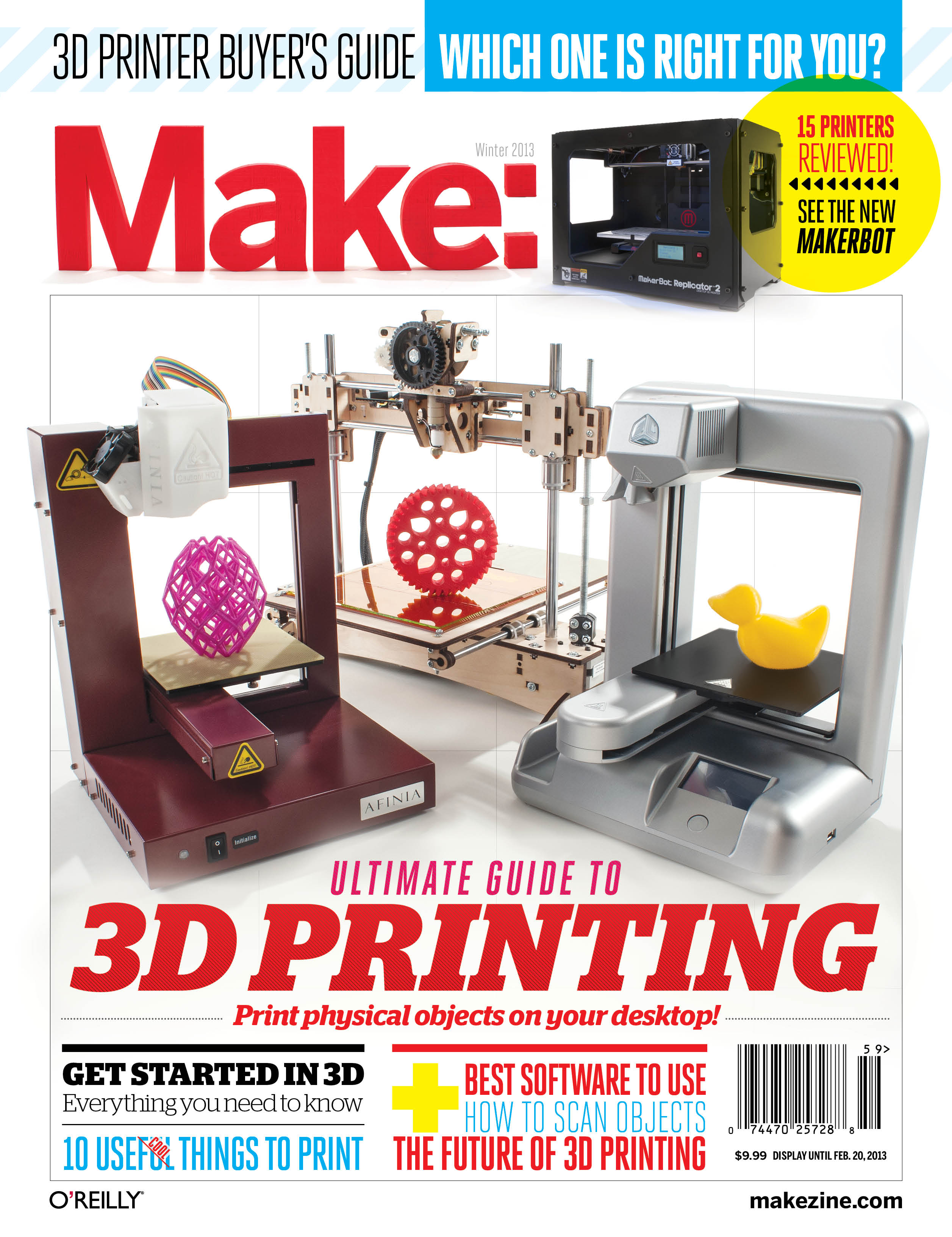 MAKE's Ultimate Guide to 3D Printing