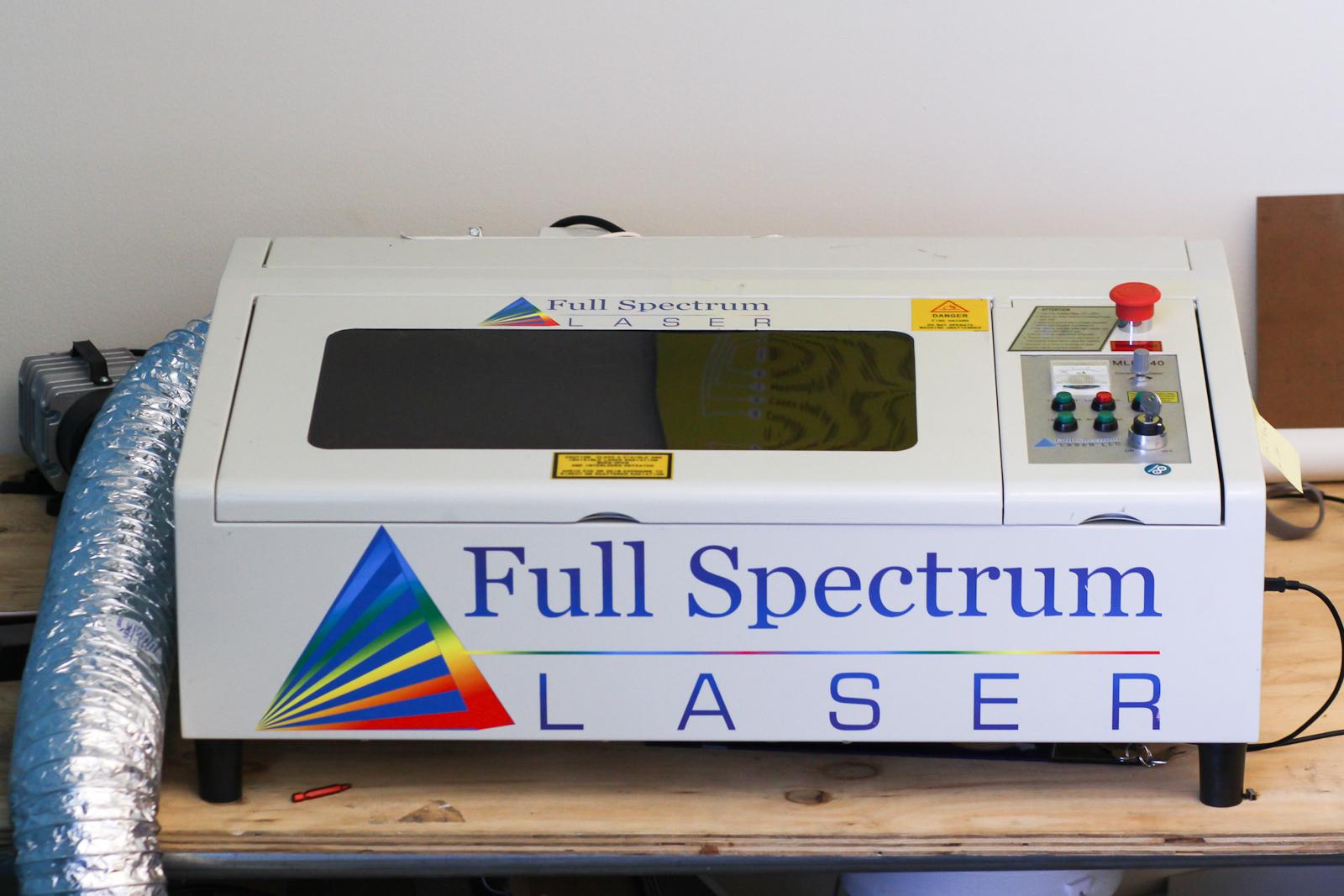 Full Spectrum Deluxe Hobby Laser Review