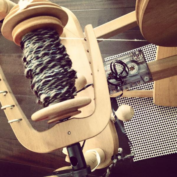 Spinning Cassette Tape