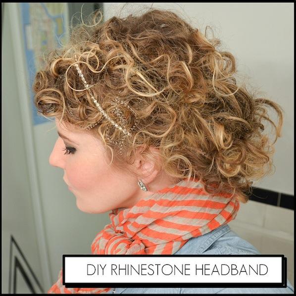 How-To: Rhinestone Headband
