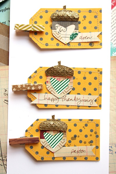 How-To: Thanksgiving Acorn Place Cards