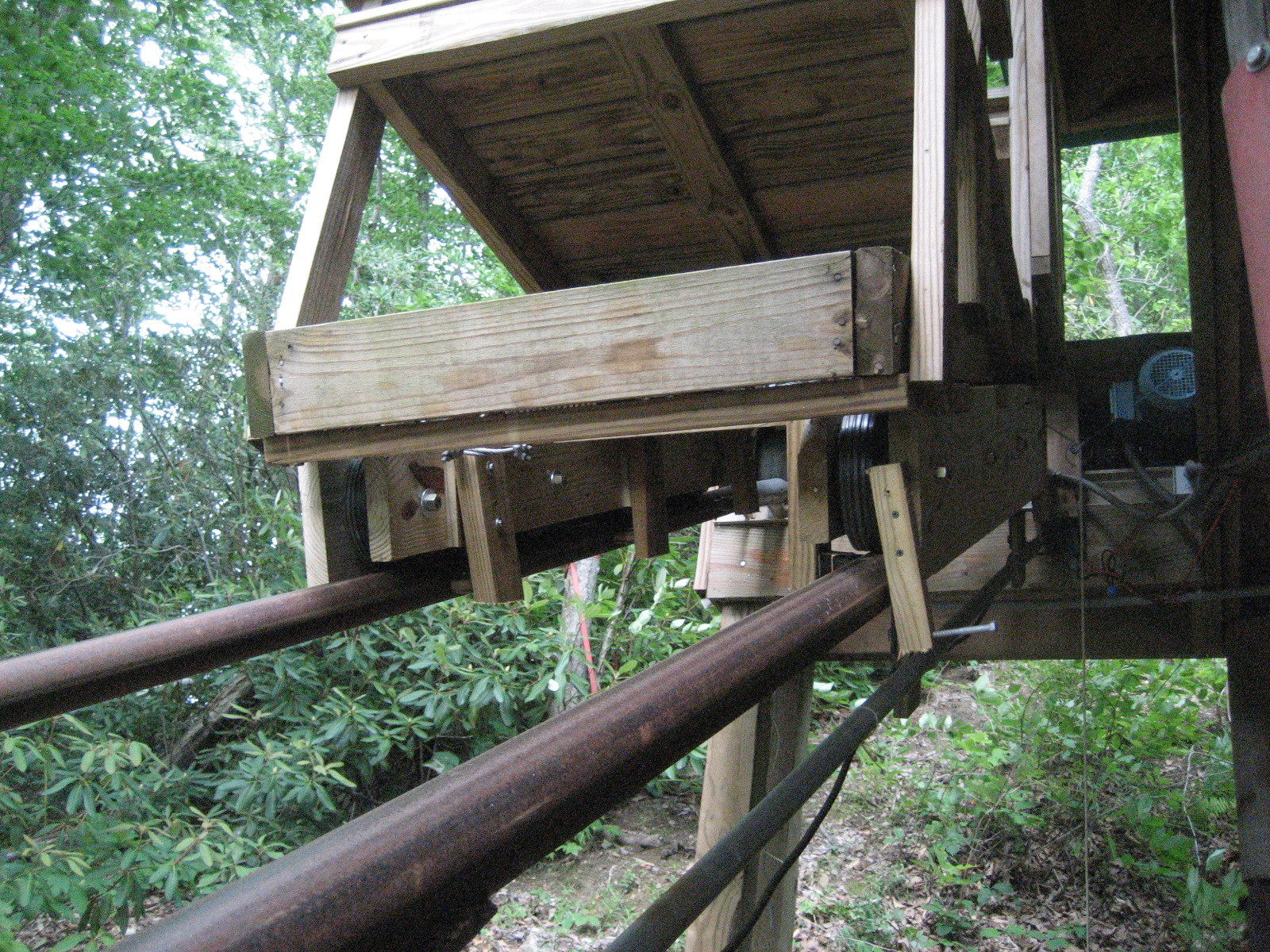 Home-Built Funicular (Motorized People-Mover System) | Make: