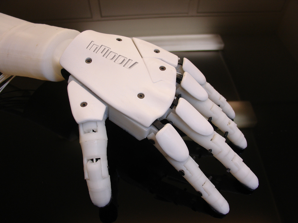 InMoov: The Robot You Can 3D Print