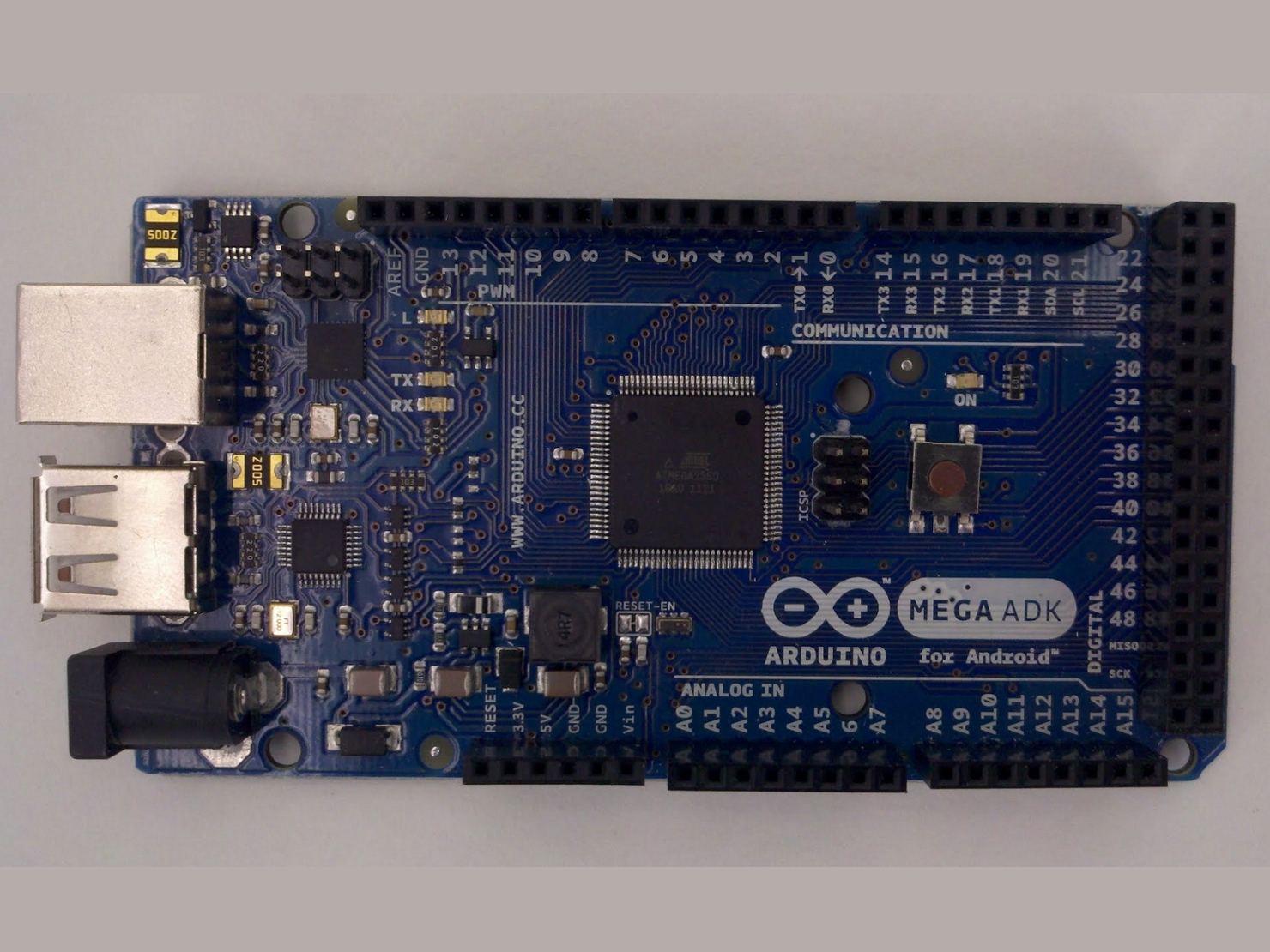 Installing Arduino Mega ADK drivers for Arduino 0022
