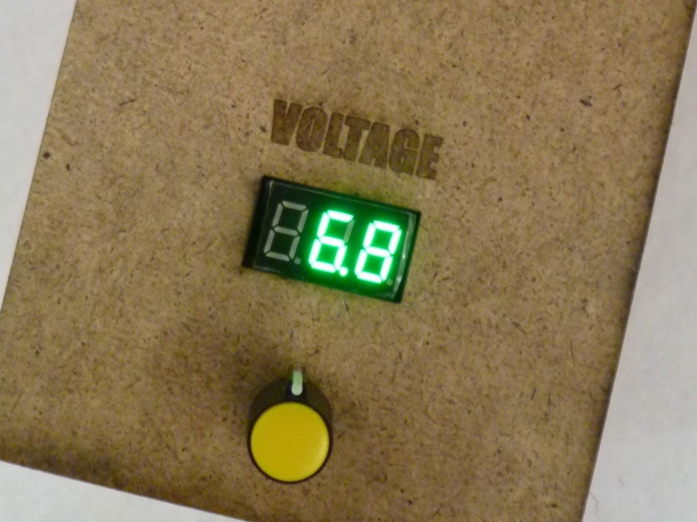 0 24 Volt 2 Amp Bench Top Power Supply Make Laboratory Variable Voltage From 0v To 50v And