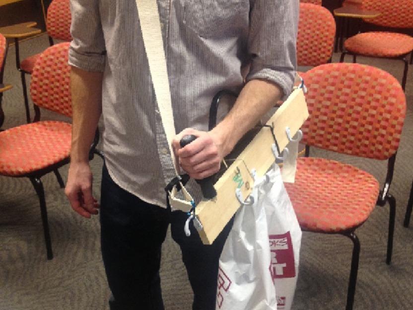 Happy Handles-Grocery Bag Carrier