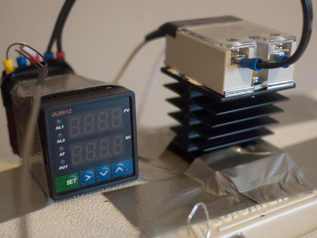 Heat Sink Wiring Diagram Universal Temperature Controller For 70 Make