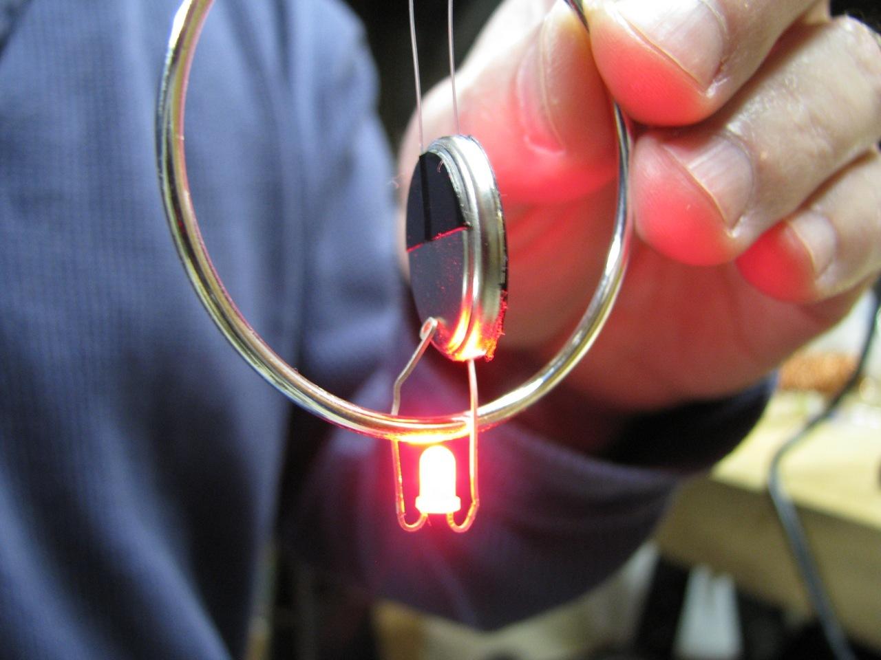 LED Hoop Earring, Mk I