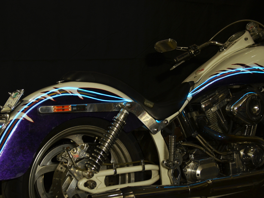 EZ-EL Wire Tron Motorcycle