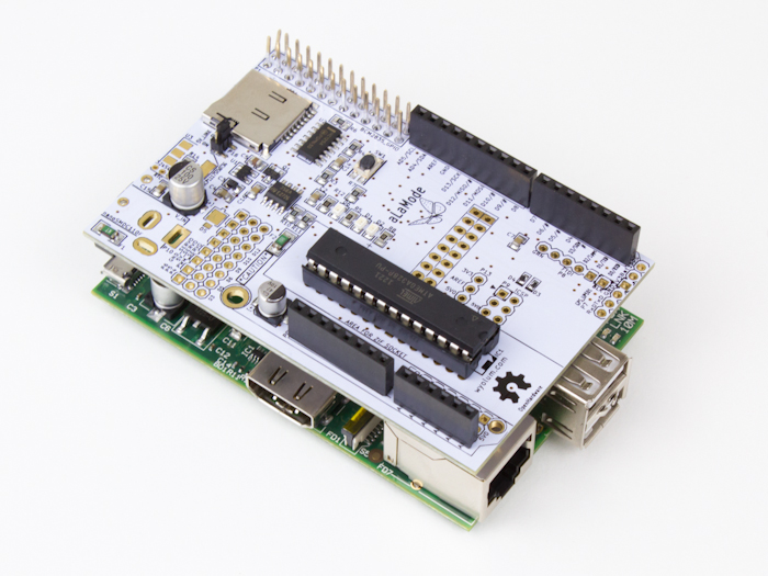 New Product: AlaMode Arduino-Compatible Shield for Raspberry Pi