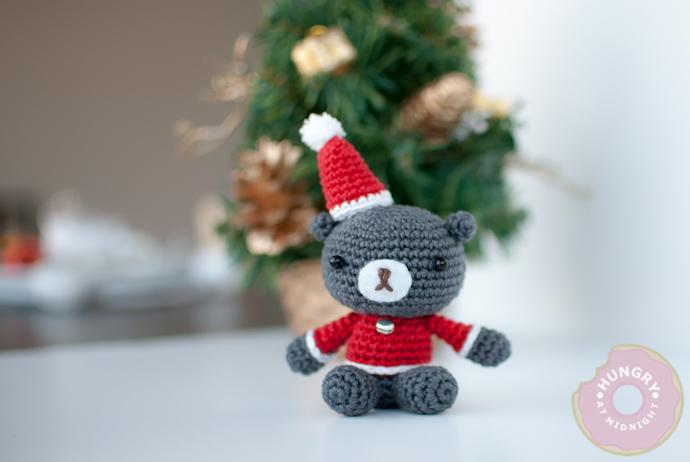 How-To: Christmas Teddy Bear