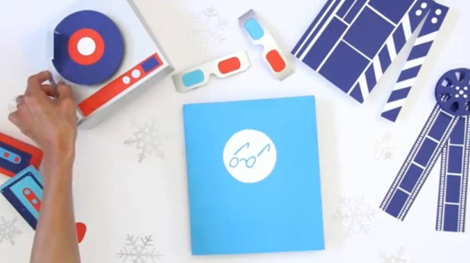 VIDEO: Chronicle Books Holiday Card