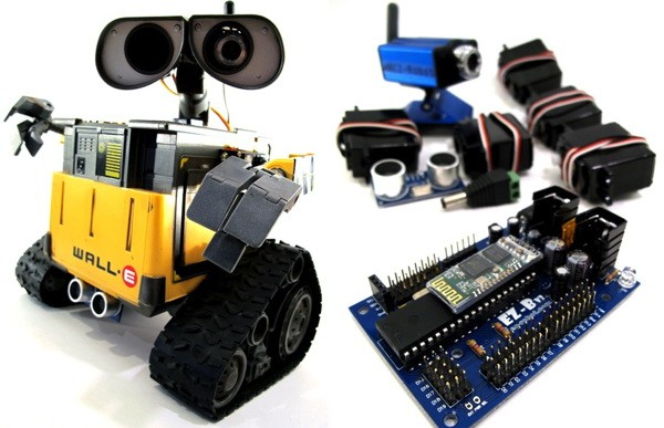 DJ Sures of EZ-Robot founded a whole company the idea of hacking toys into robots.