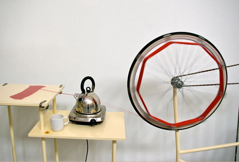 Un-Knitting Machine