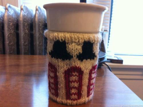 Inspector Spacetime Mug Cozy