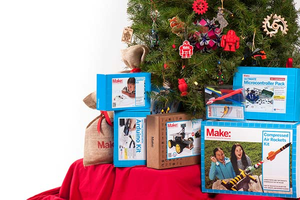 FREE Christmas Delivery from the Maker Shed