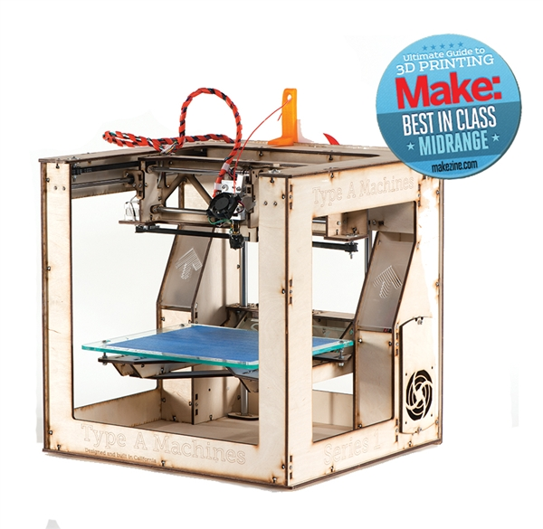 Type A Machines Series 1 Dual Extruder – Now Shipping from the Maker Shed