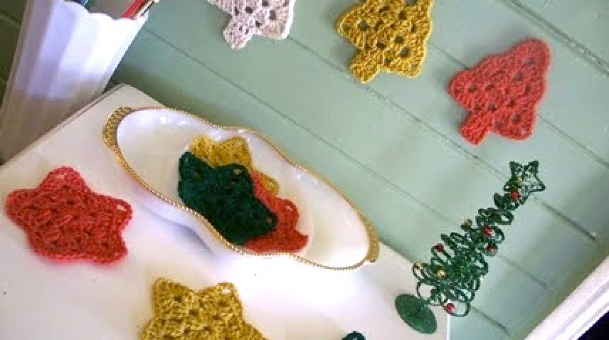 How-To: Crocheted Christmas Tree Grannies