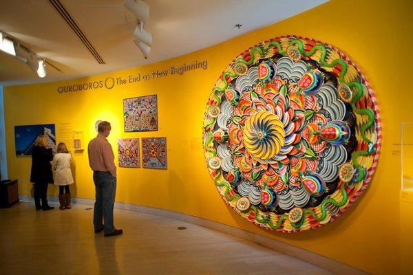 Paper Plate Mandala  Make