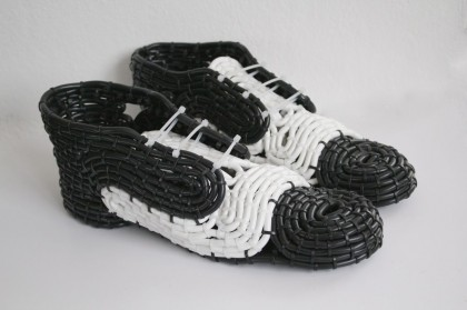 Shoes from Power Cables