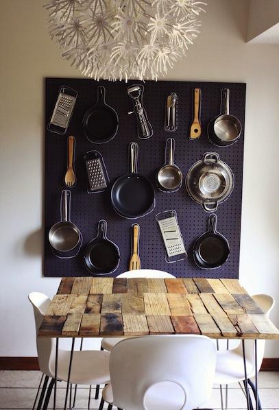 How-To: Kitchen Organizer Pegboard