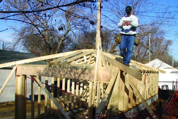 Building the Barrage Garage