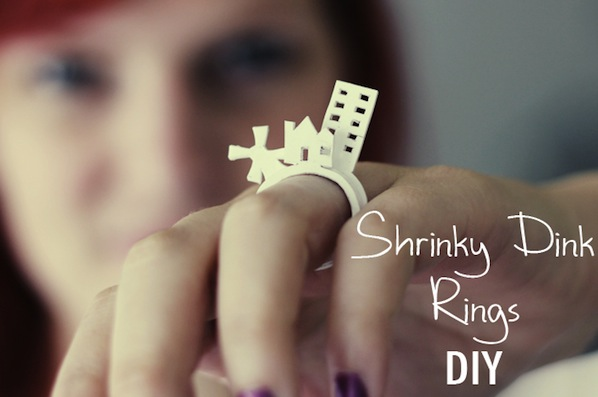 How-To: Stackable Shrink Plastic Rings