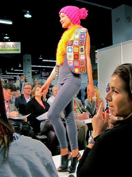 Lion Brand Yarn Fashion Show at CHA Winter 2013