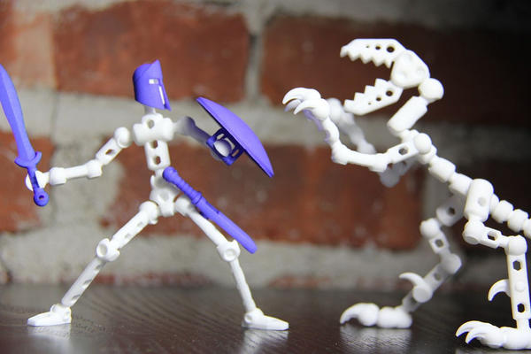 Providence-Based ModiBot's 3D-Printed Modular Action Figures