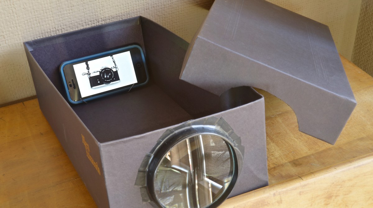 How-To: $5 Mobile Phone Projector