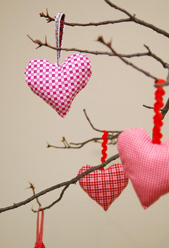 Free Valentine Heart Ornament Pattern