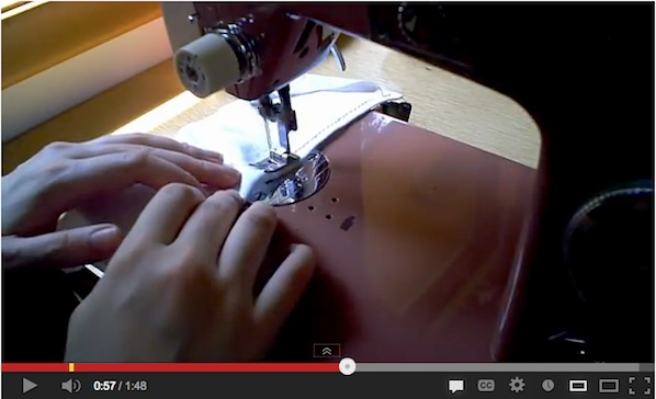 How-To: Hemming Knits and Stretch Fabrics