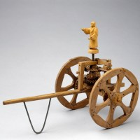Chinese 'south-pointing' chariot, c 2700-1100 BC.