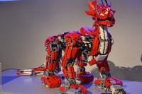 Colossal Mindstorms EV3 Dragon Acts Alive | Make: