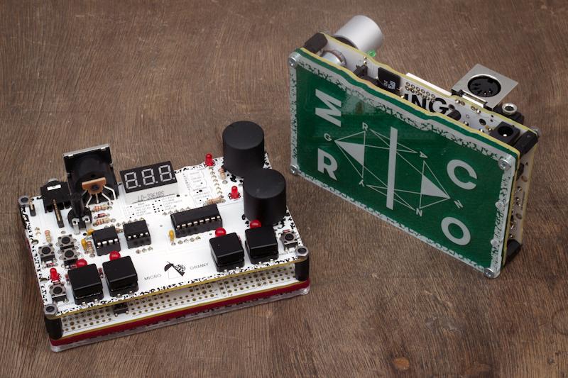 The MicroGranny, a DIY Granular Sampler