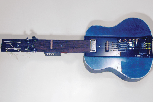 Homebrew — My Servoelectric Guitar