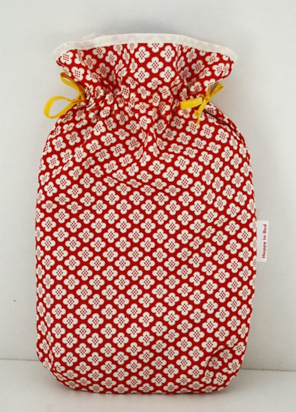 How-To: Fat Quarter Hot Water Bottle Cover