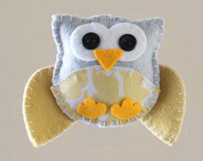 How-To: Mini Felt Owl