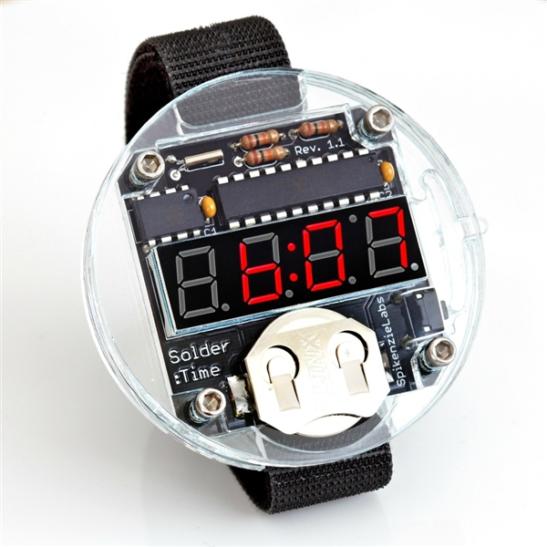 Solder:Time Watch Kit – The Flux Capacitor of Watches