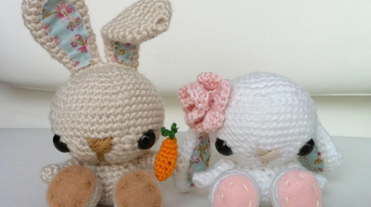Amigurumi Nyuszik : Craft pattern: crochet bunny for spring make: