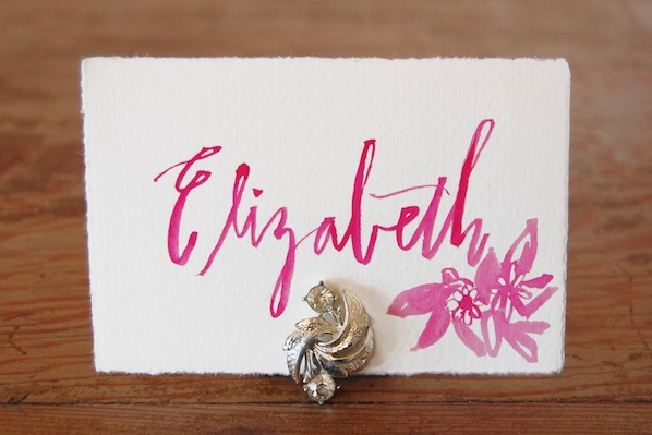 How-To: DIY Place Card Holder