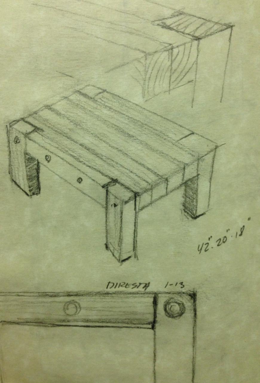 Diresta Reclaimedwood Table Make