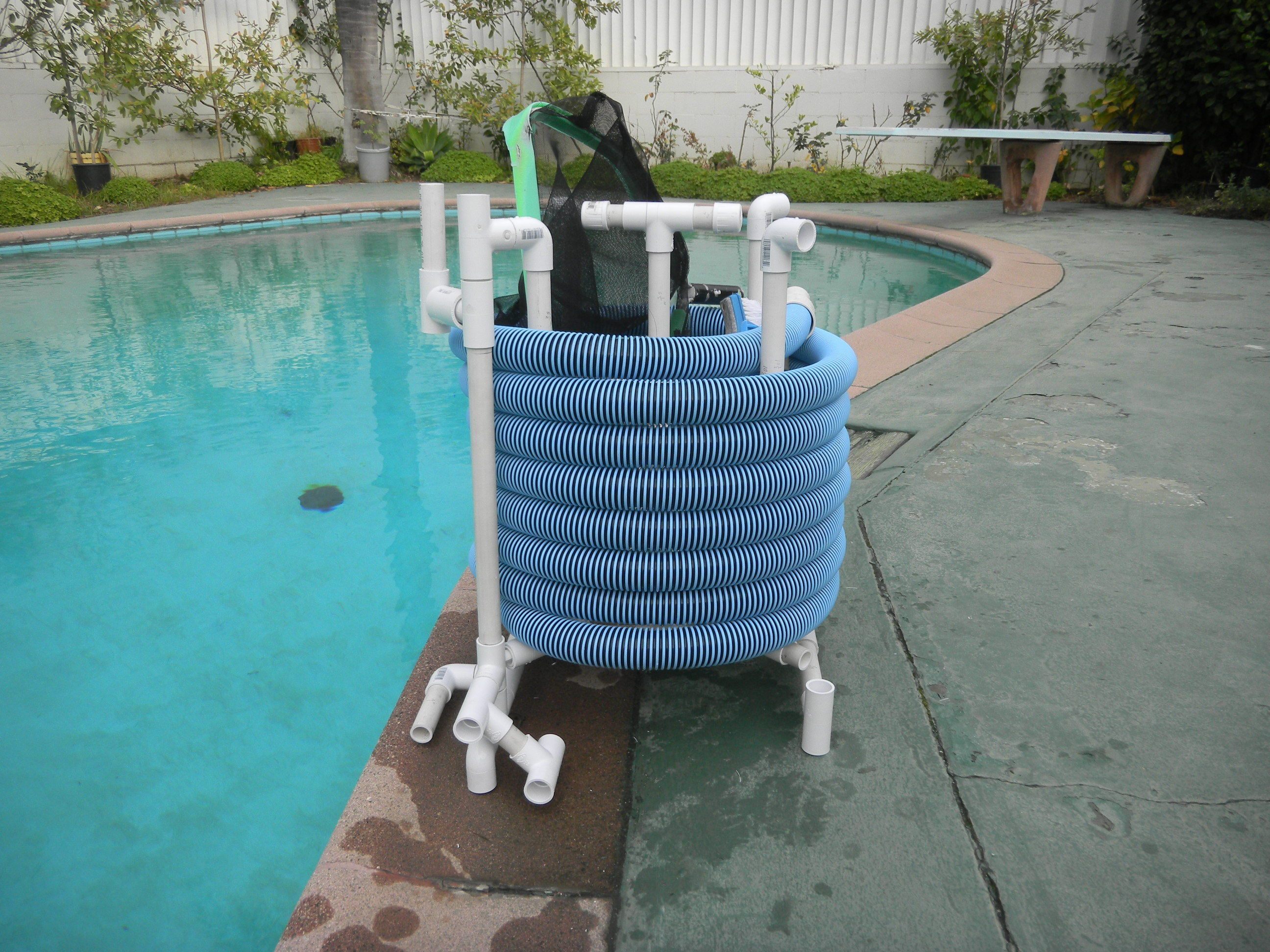 PVC Pool Hose Reel