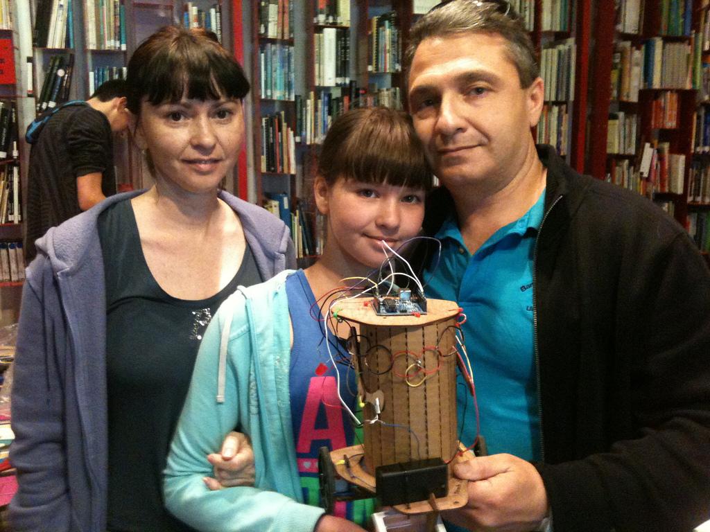 Mini Maker Faire Action: Coffeebots in Jerusalem