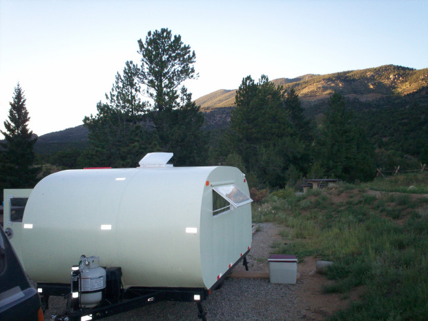 Build a Teardrop Camper Trailer from the Ground Up