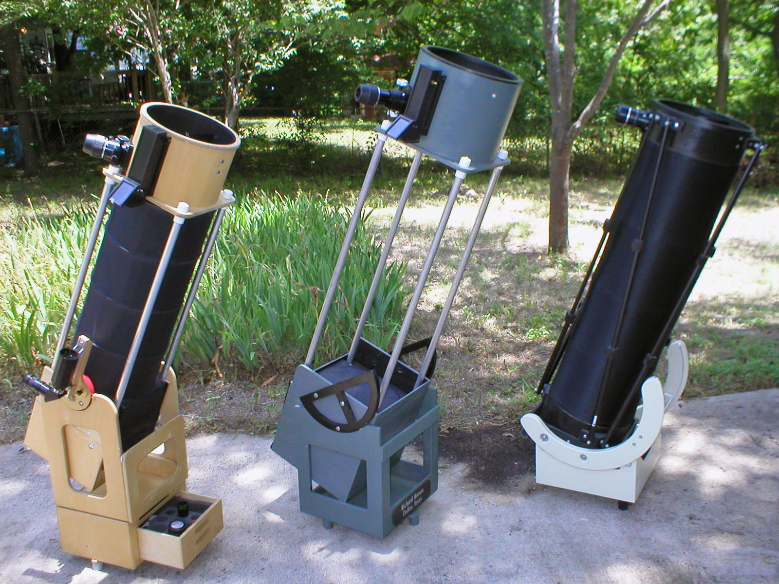 Made On Earth — DIY Truss Telescope