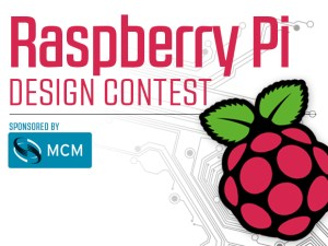ENTER HERE to submit your Pi project to the first ever Raspberry Pi Design Contest!